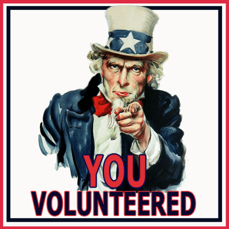 you-volunteered