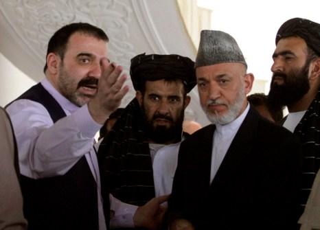Hamida Karzai, Ahmad Wali Karzai