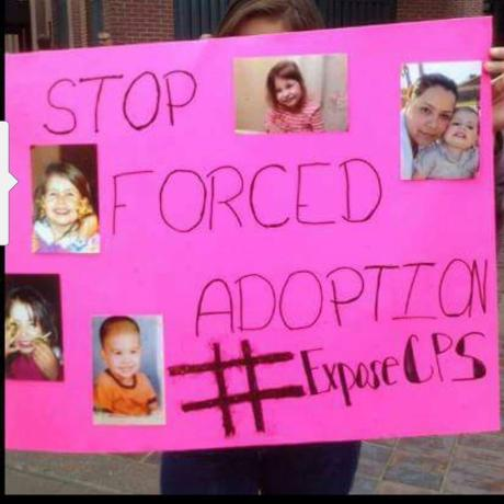 DCF Protest