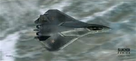 Russian Stealth Jet