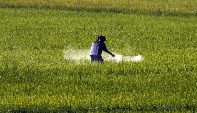 man spraying field 4 21 16