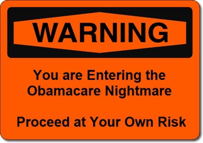 Warning Obamacare
