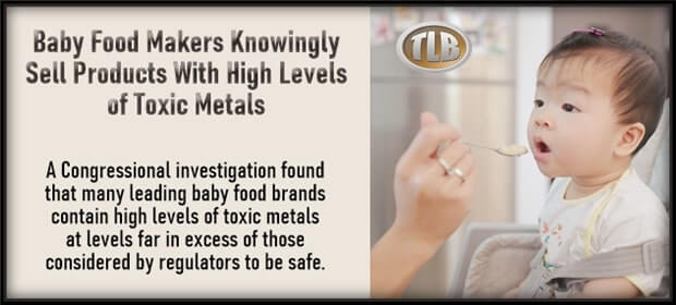 Baby Food Makers Knowingly Sell Products With High Levels of Toxic Metals – FI 02 11 21-min