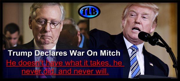 Mcconnell vs trump war feat 2 16 21
