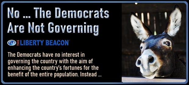 No – The Democrats Are Not Governing – FI 02 16 21-min