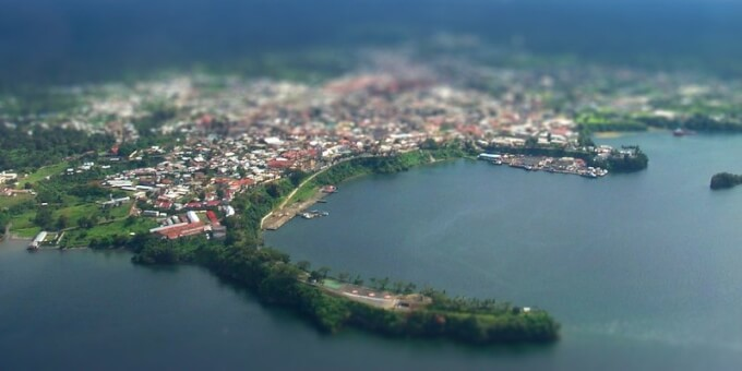 Malabo Harbour – Cropped