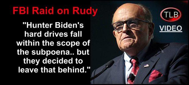 Rudy FBI raid JtN feat 4 30 21