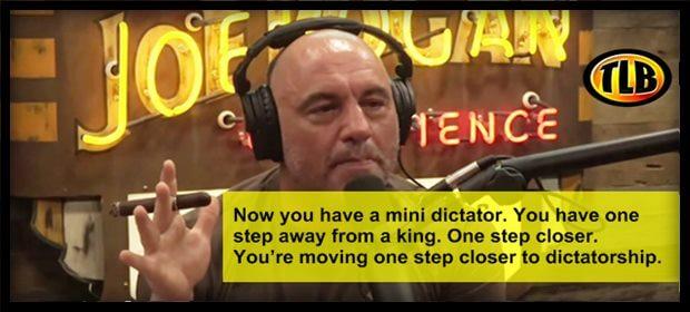 Joe Rogan c19 Dictator ZH feat 8 7 21