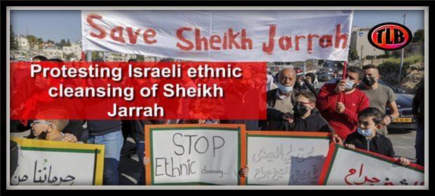Palestinians protest BBC LastAMVA feat 8 13 21
