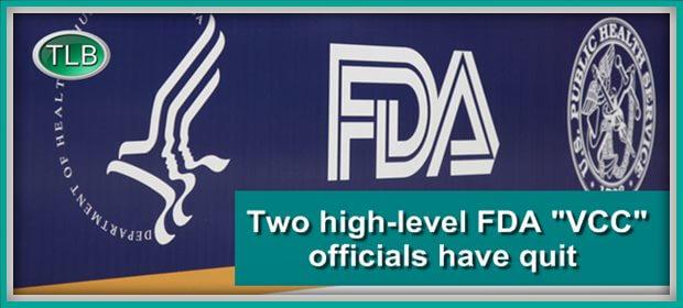 FDA 2officials quit RT feat 9 1 21
