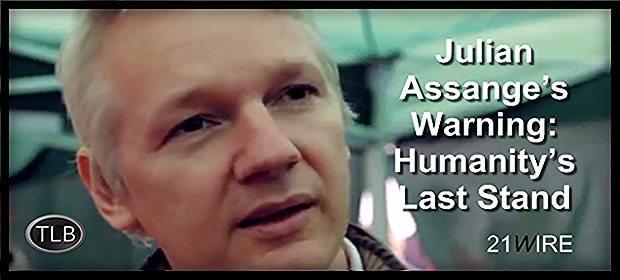 Julian Assange Humanity 21Wire feat 9 3 21
