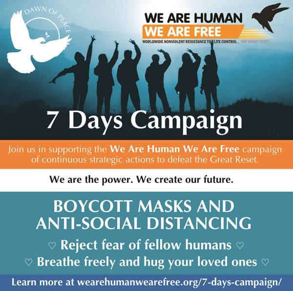 WAHWAF-7Days-Boycott Masks flyer, 13 Aug 2021 – small