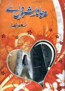 Na Jana Shehar e Dil Se Novel By Anjum Ansar Pdf Free