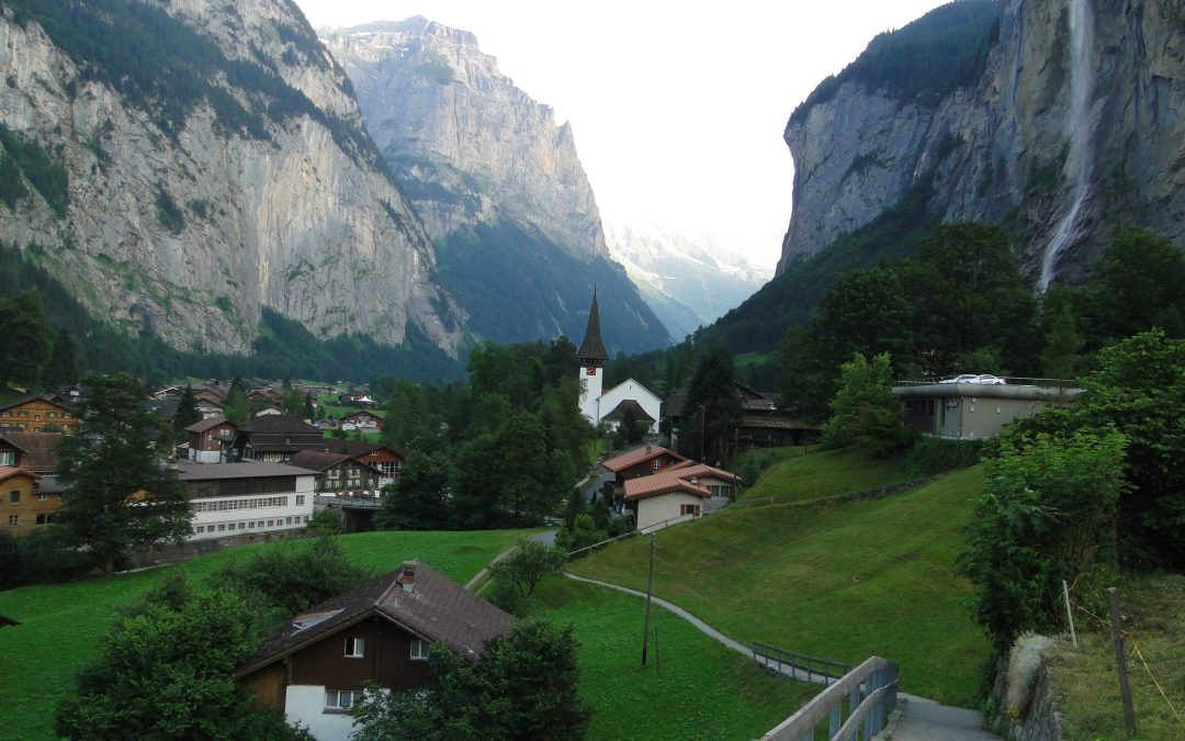 Lauterbrunnen:  A Magical, Majestic Swiss Valley