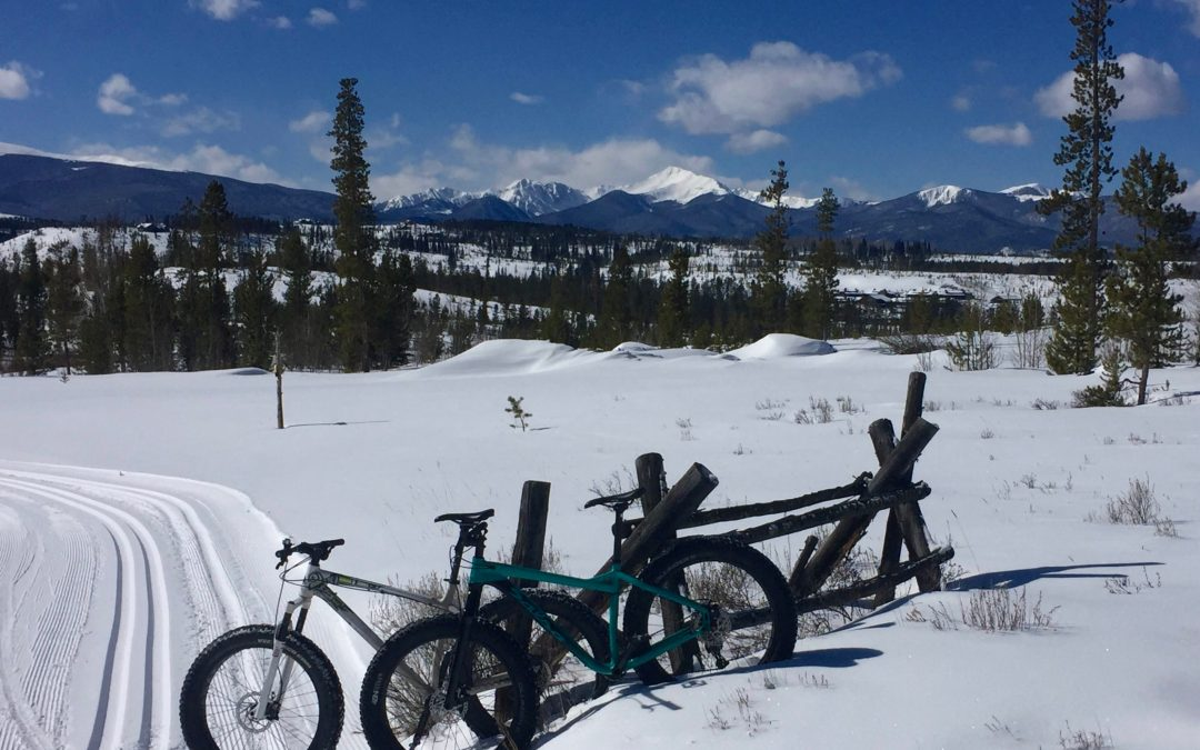 Fat Biking Adventure at Devil's Thumb Ranch:  Keeping the Wheels Rolling in the Winter