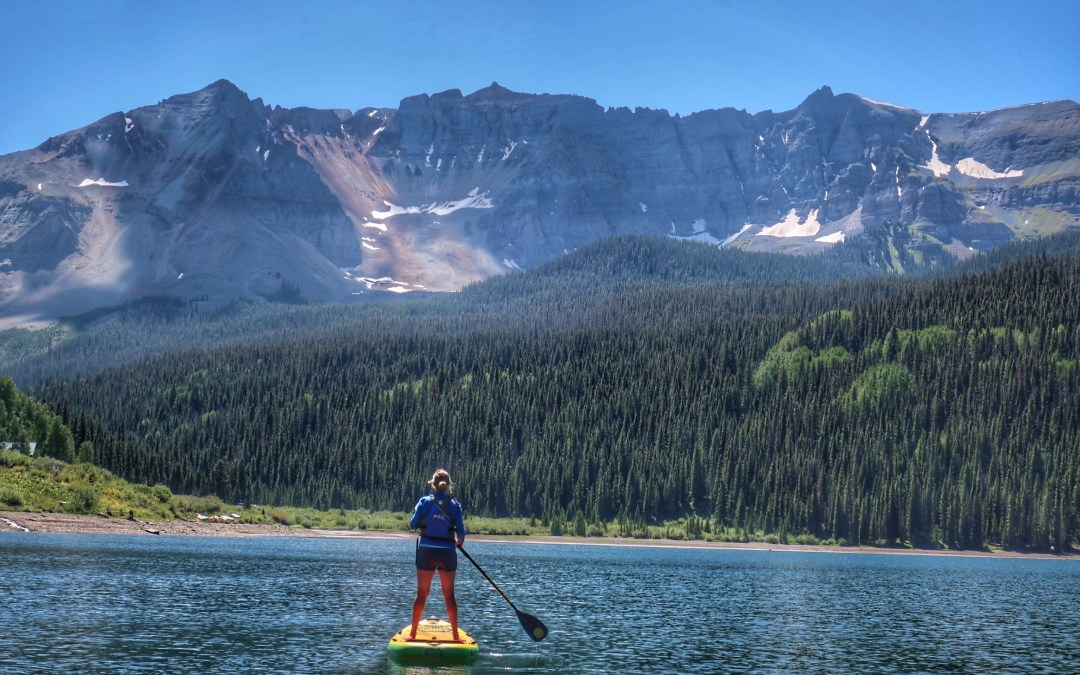 Just a Darn Good Day Paddling near Telluride