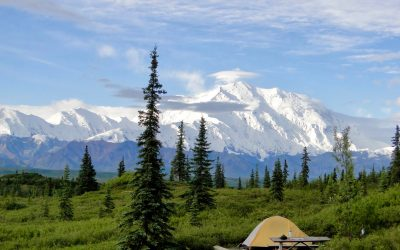 Wonder Lake Campground – One of the Best Places to Sleep Ever