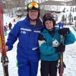 Ty Dillman in Beaver Creek ski school