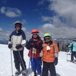 Dillman kids at Beaver Creek Ski school
