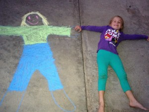 Body and chalk