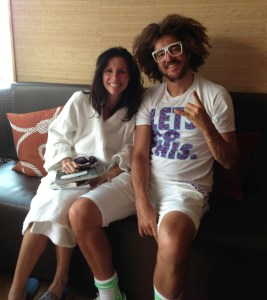 Laurie McDermott & Stefan Gordy of LMFAO