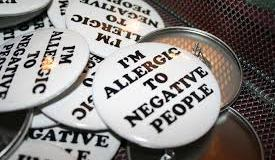 Laurie McDermott Allergic to Negative people