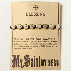 benedictine bracelet Blessings