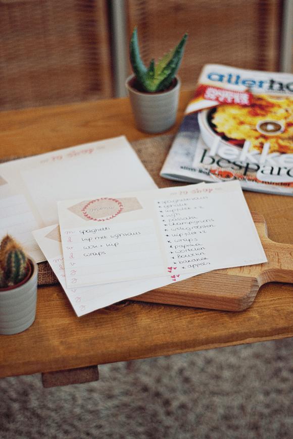 Tip + freebie: meal planner