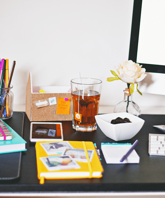 Blogger desk essentials