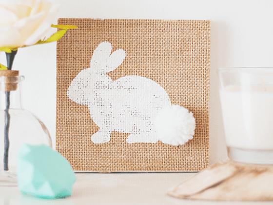 DIY: schilderijtje voor Pasen