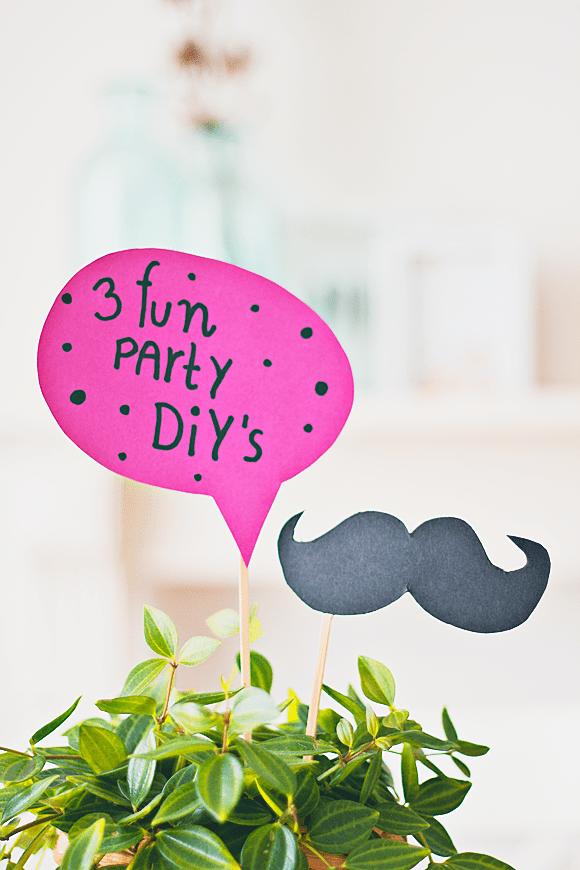 3x superleuke party DIY's