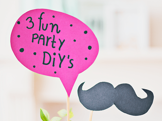 3x superleuke party DIY's