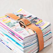 5 x tijdschriften opbergen