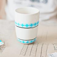 DIY tandenborstelbeker met print