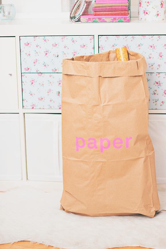 Le sac en papier