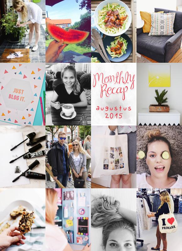 Monthly Recap Augustus 2015