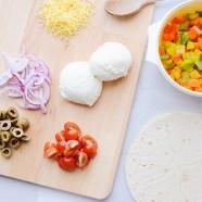 Heerlijke vegetarische wrap pizza'sRecept–vegetarische-wrap-pizza-(2-van-9)