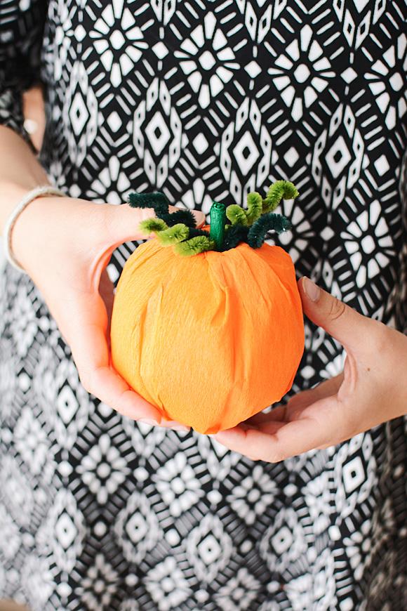 Decoratie Halloween pompoentjes