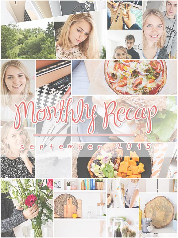 Monthly Recap – september 2015