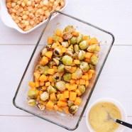 Spruitjes uit de oven met butternut