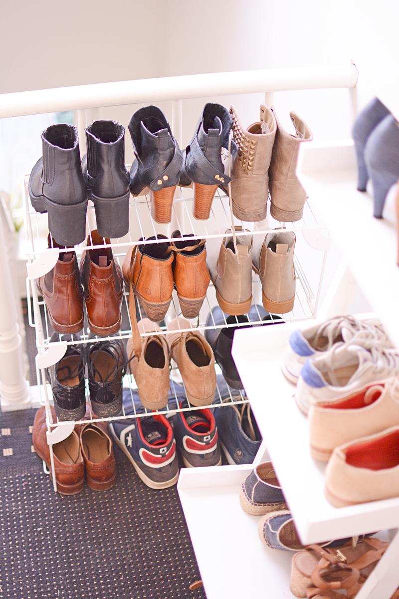Zo ruim je je schoenen netjes op