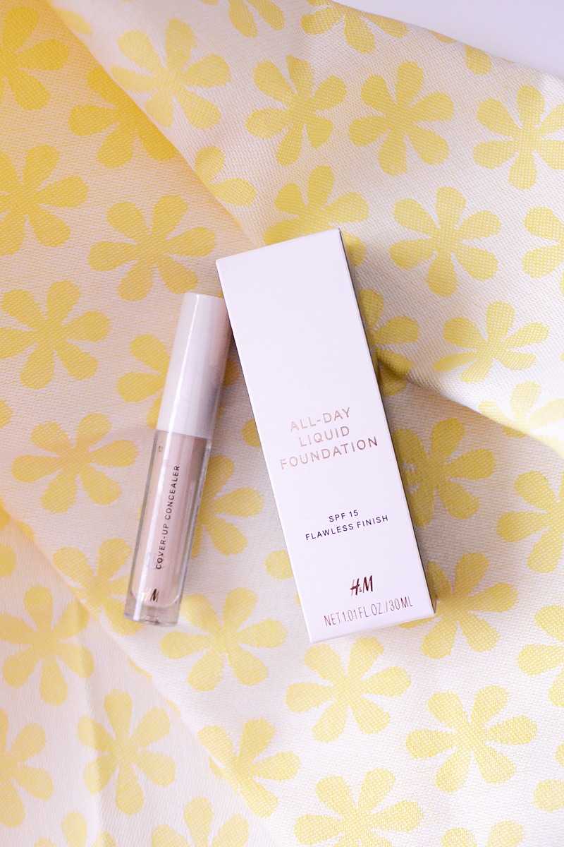 H&M All-day liquid foundation & Cover-up concealer