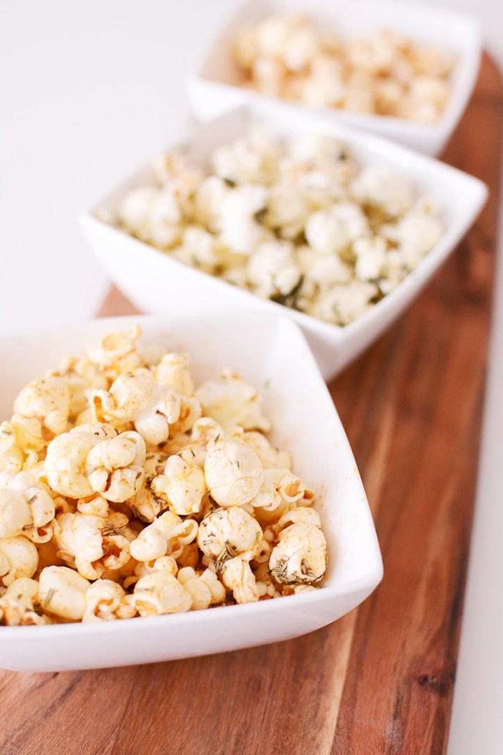 Popcorn Party: drie heerlijke combinaties