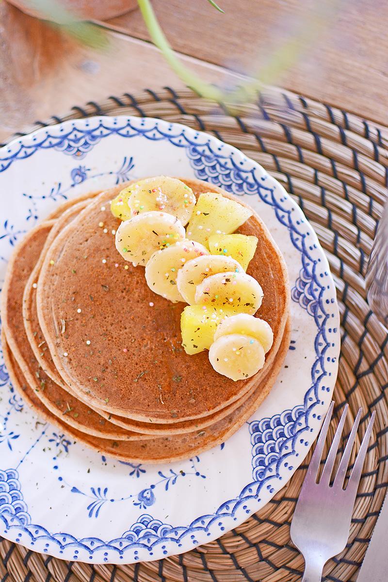 Recept: lekkere, suikervrije pannenkoekjes