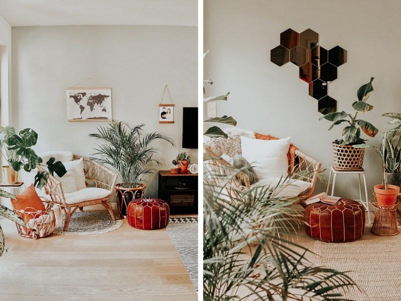 Zetel voor en na
