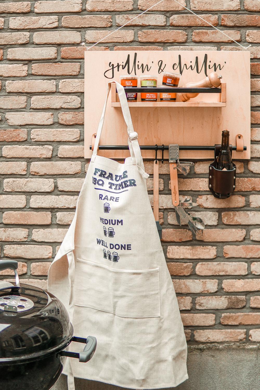DIY Vaderdag: barbecue station