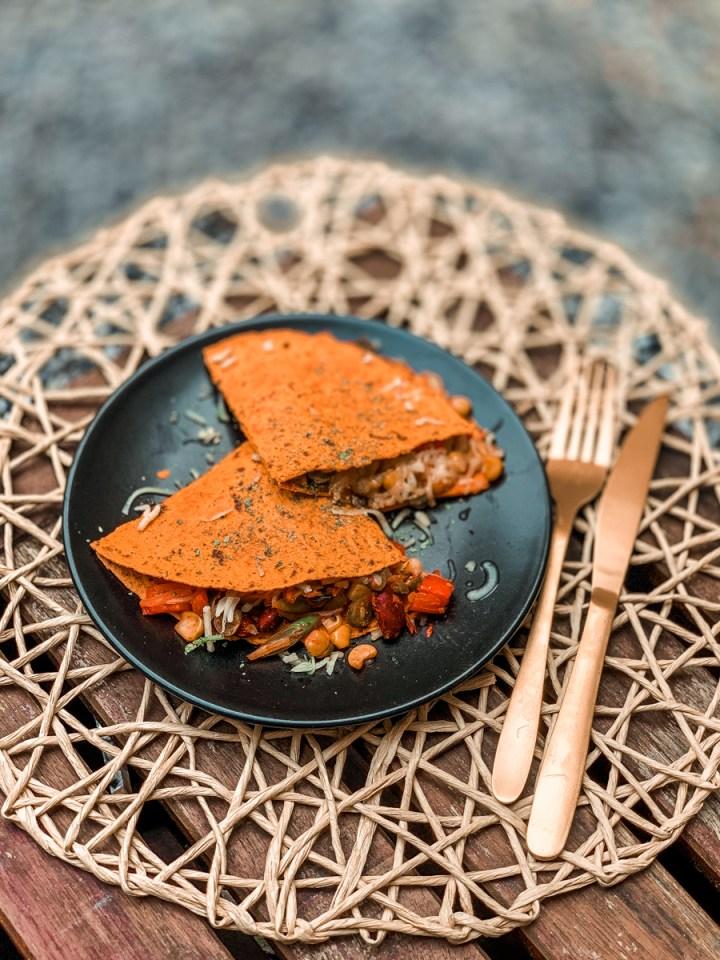 Recept: gezonde, low-cal quesadilla's