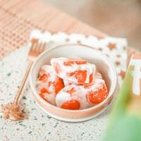 Recept: gezonde yoghurt barks met aardbeien