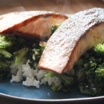 Salmon and Healthy Greens