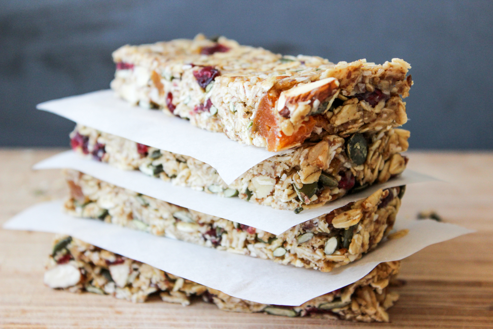 Healthy, Chewy, Muesli Bars | Back To School Clean Eating Snacks | Homemade Recipes